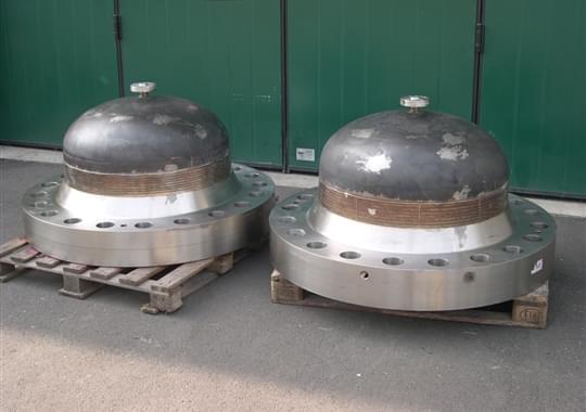 Fabricazione Caps Speciali per Test Valvole - Caps 34 pollici 900 Lbs