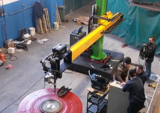 Riporti di Saldatura - Impianto Semi Automatico