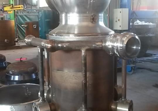 Sistema Turbine by Pass elettrosaldato