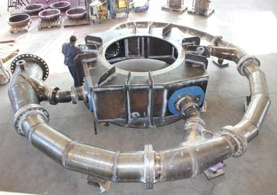 Turbina Francis - Cassa Spirale